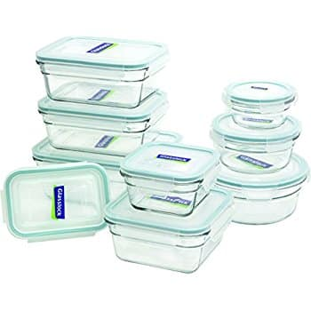 Glasslock 18-Piece Assorted Oven Safe Container Set $25.99 FS Amazon