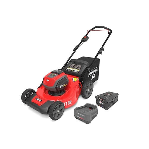 Snapper 1687884 82V Cordless Lithium-Ion 21 in. Walk Mower Kit with 2.0 Ah Battery & Rapid Charger - New from CPO Outlet - Free Shipping - $162.72