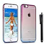 Iphone 6 case Clear on Amazon $3 Yellow/ Pink Only Prime Eligible or add on item for $25 free ship