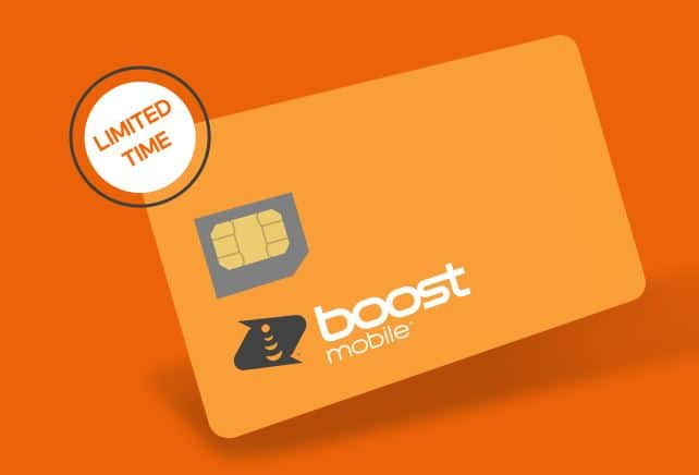 Boost Mobile: Get 5GB Data + Unlimited Talk & Text for $15 + Free SIM