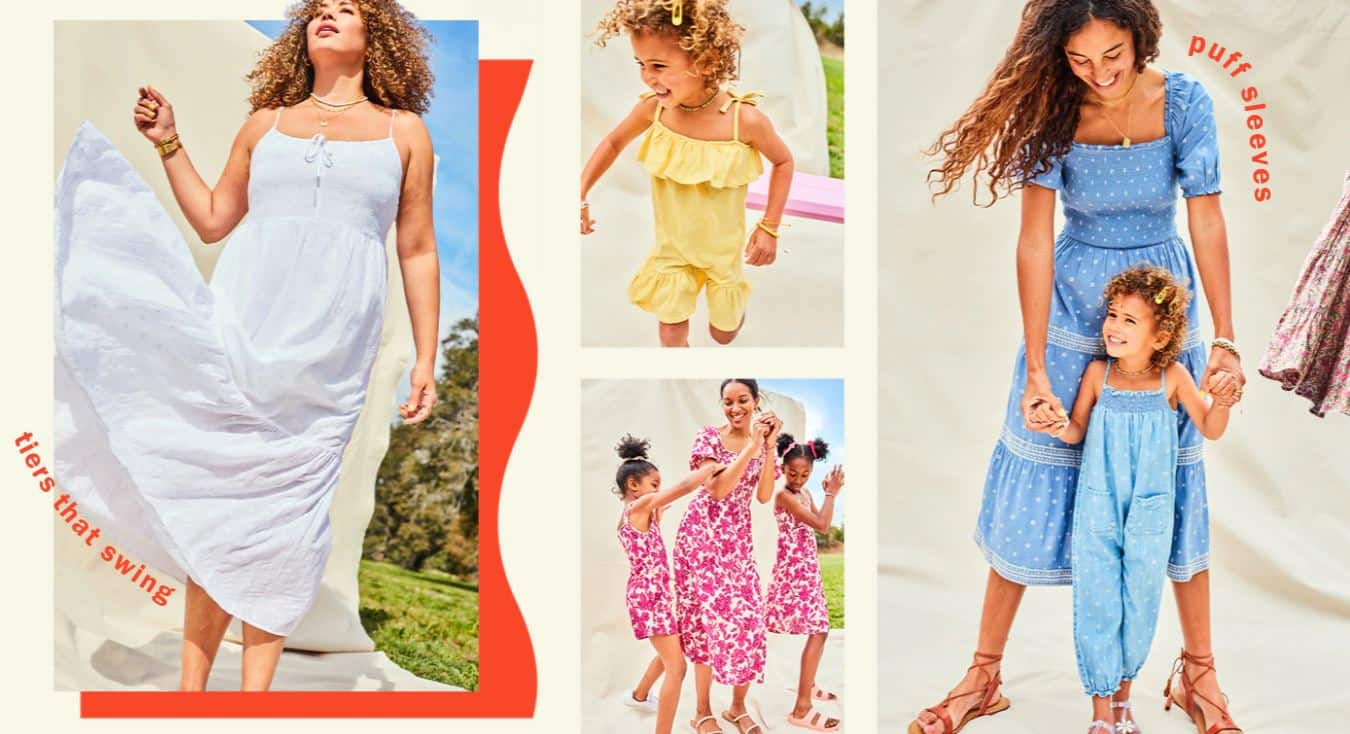 Old Navy: Shop 1000s of Styles Starting from $8 - Ends 6/13