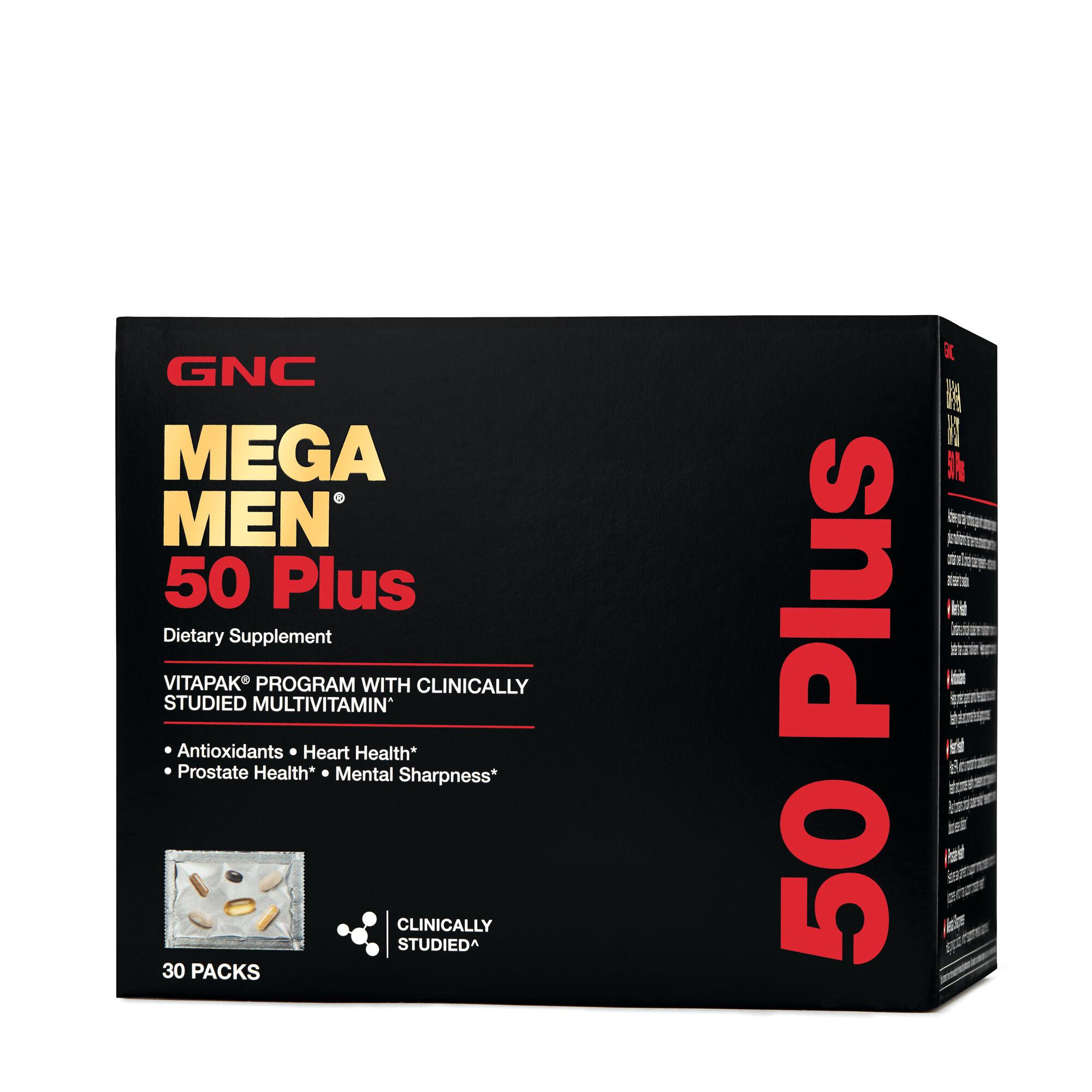 Mega Men Vitamins Up to 55% Off at GNC. Offer Valid: 7/6-7/9