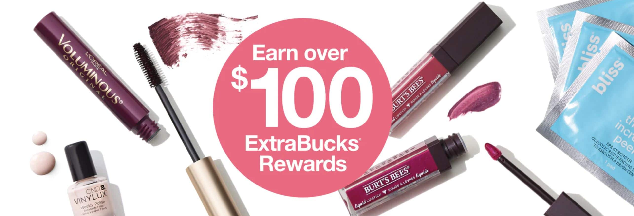 CVS: Earn over $100 ExtraBucks everyday during the Epic Beauty Event (9/1 - 9/27)