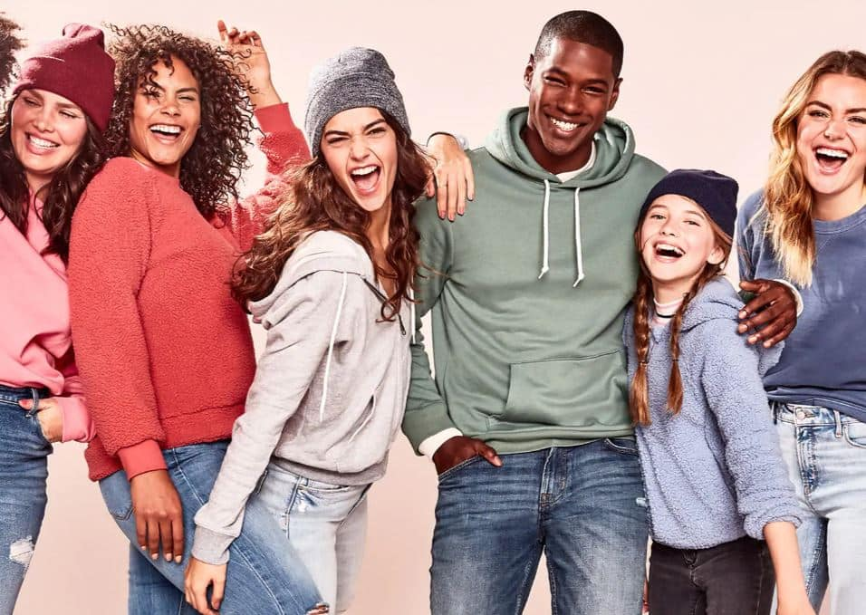 Old Navy: Up to 60% Off Storewide. Restrictions Apply. Ends 1/20