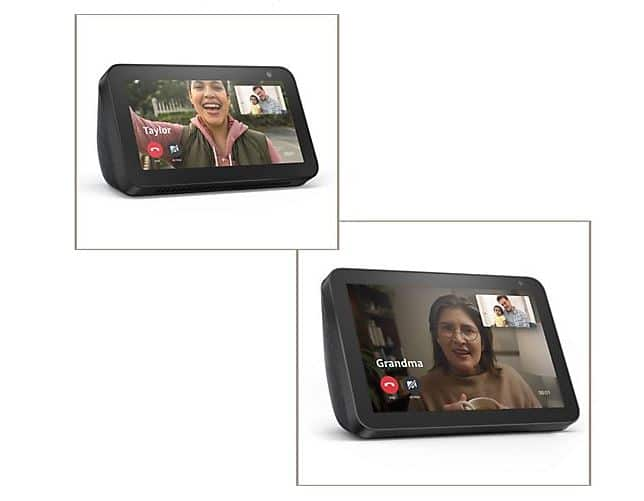 QVC: Amazon Choice of Echo Show 5, Show 8 or Bundle with Video Calling Starting at $59.98