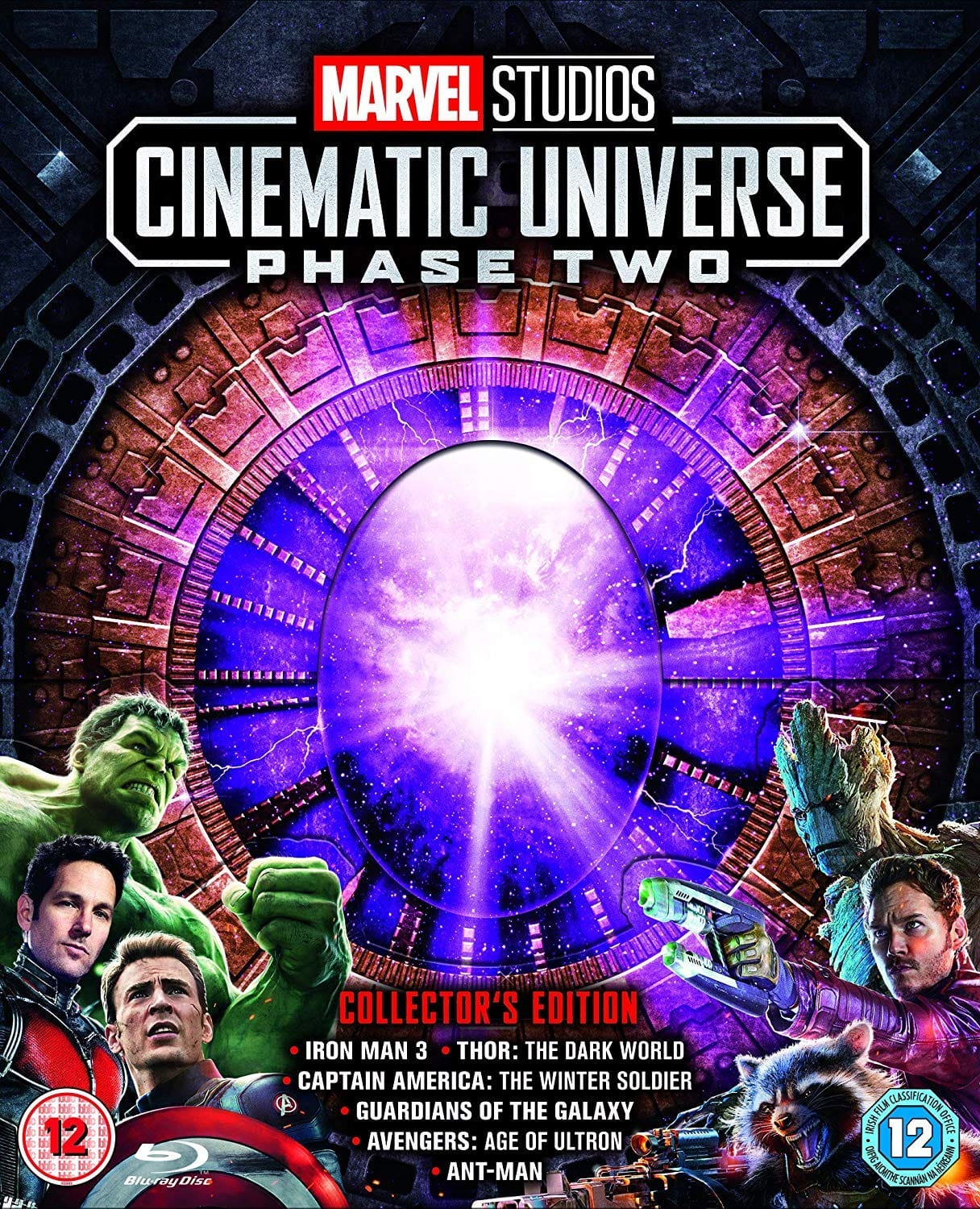 Marvel Studios Cinematic Collection Phase 2 Collector's Edition Blu-Ray $68.95