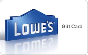Buy $200 Lowe's eGift Card for $170 ($30 off) at Gift Card Mall