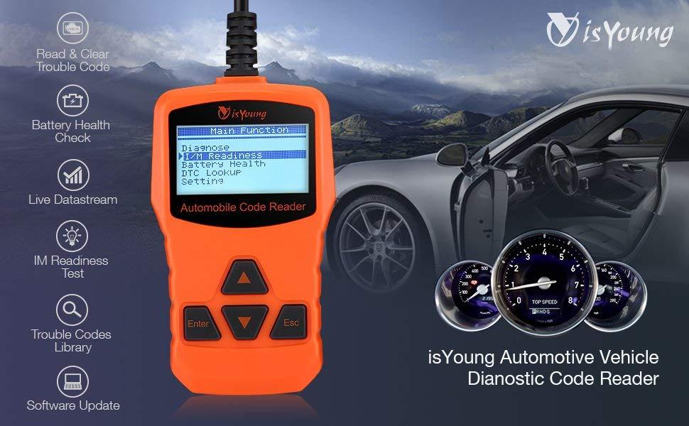 Vehicle Scan Tool OBD/EOBD CAN Diagnostic Tool - $17.49 AC + Amazon FS
