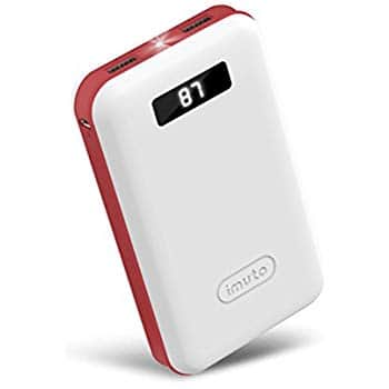 iMuto 20000mAh compact portable charger with LCD Digital Display $17.59 AC + Amazon FS