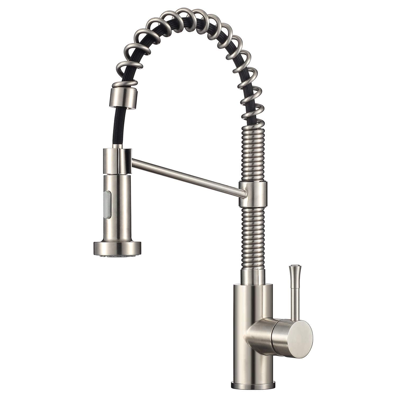 Commercial Kitchen Faucet With Dual Function Pull Down