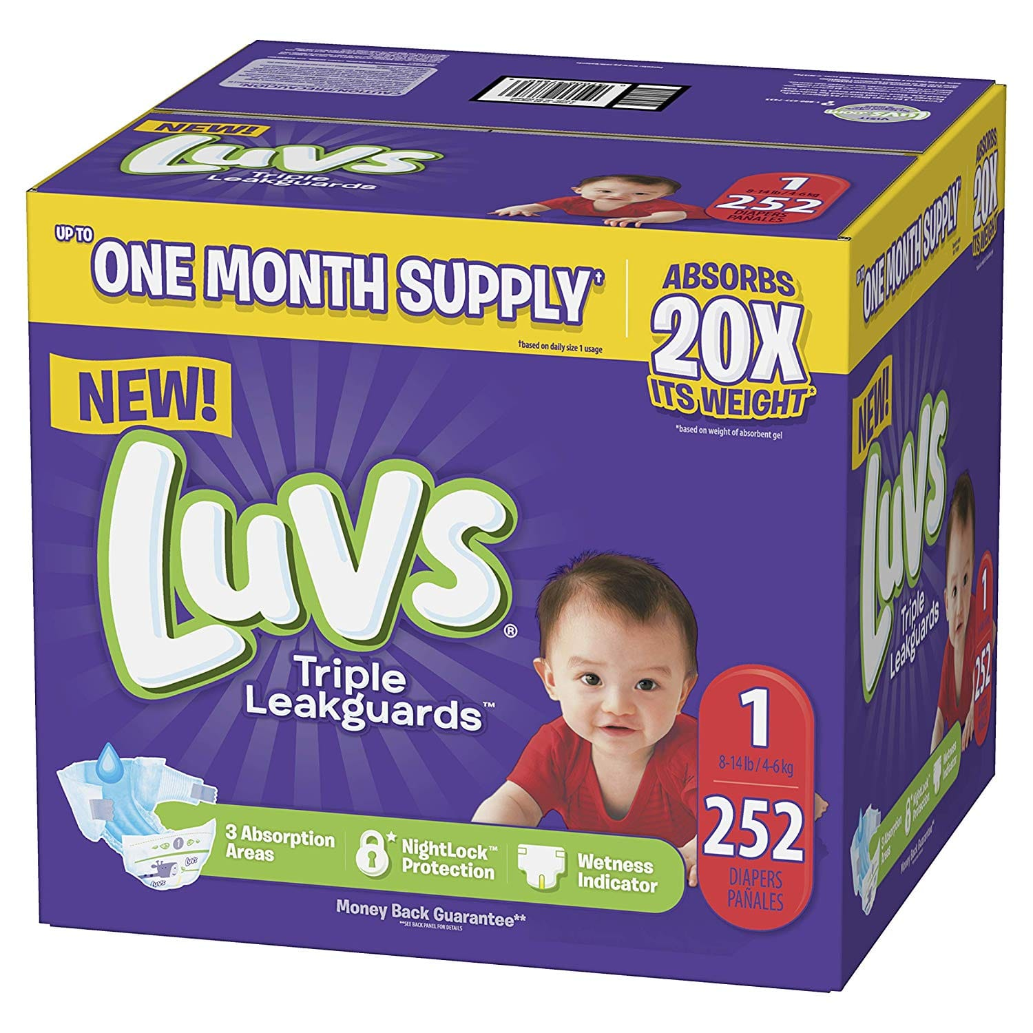 Luvs Size 1 diapers $19.93