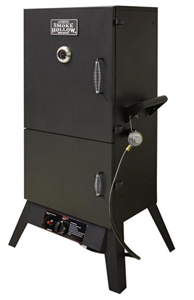Smoke Hollow 38202G 38-Inch 2-Door Propane Gas Smoker - $162.92
