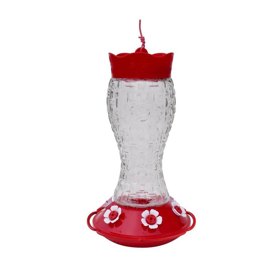 Glass hummingbird feeder....Lowes...glass hummingbird feeder...$4.24...Lowes