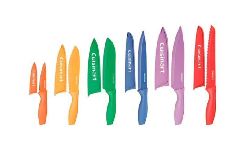 Cuisinart 12 pc knife set $12.99