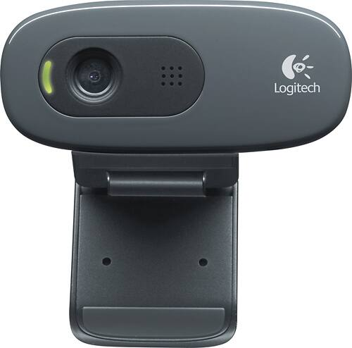 Logitech - HD Webcam C270 - Black $28 $27.99