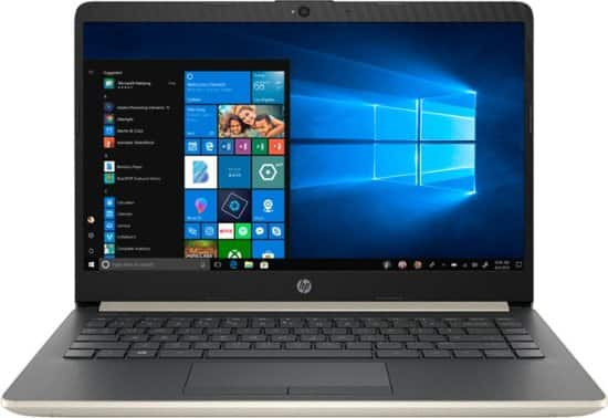 "HP - 14"" Laptop - Intel Core i3 - 4GB Memory - 128GB Solid State Drive $200 AC @ BestBuy"