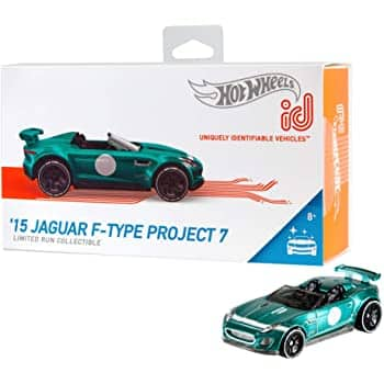 Hot Wheels ID '15 Jaguar F-Type Project 7 car $2.91 @ Amazon free shipping with prime