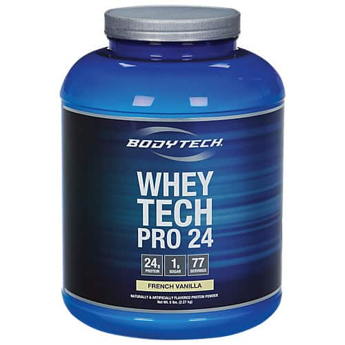 Vitamin Shoppe: 2x 5-lb Whey Tech Pro 24 Protein Powder $59.99 + Free Shipping