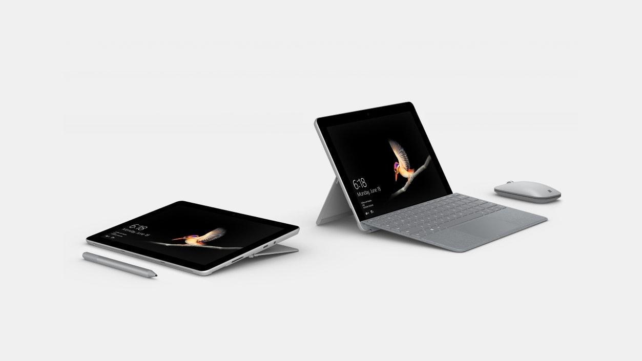 Surface Go 8GB/128GB + Platinum Type (bundle) $519