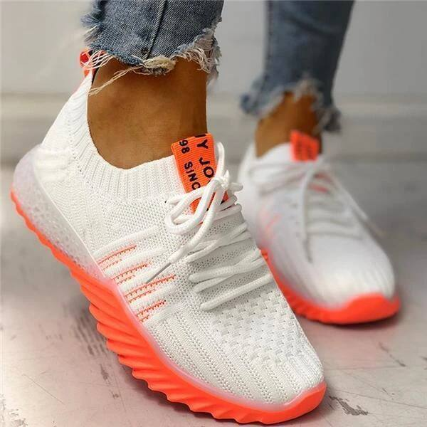 Tiosebon Women's Colorblock Knitted Sneakers $23.49 + FS [Use code 'SDFS65' at checkout]