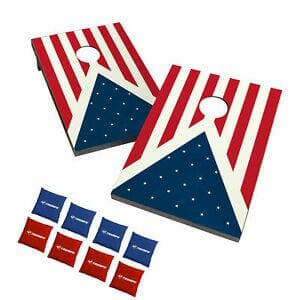 Triumph Outdoor Tournament Moisture Resistant Patriotic Bean Bag Toss Game Set - $43.34 w/ coupon code