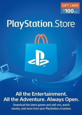 $100 PlayStation Gift Card [Instant e-mail delivery] $86.37