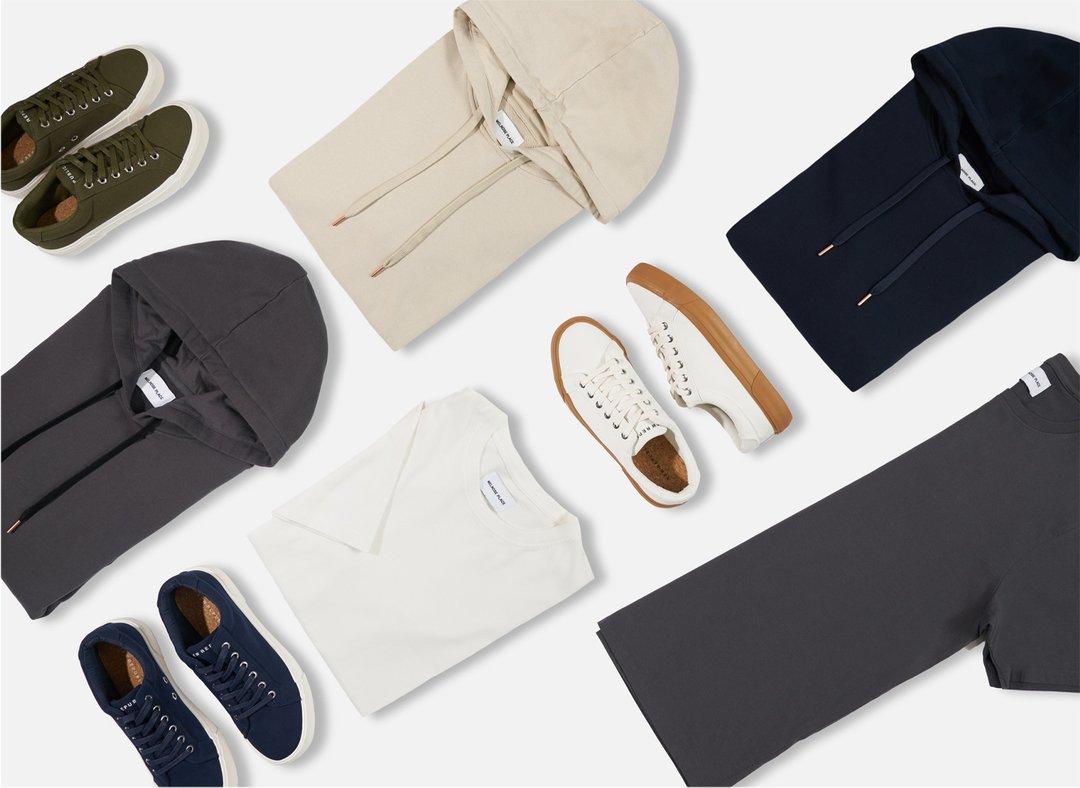 Menlo Club 1-2 Shirts + Pants + Shoes + Socks - ALL FOR $24