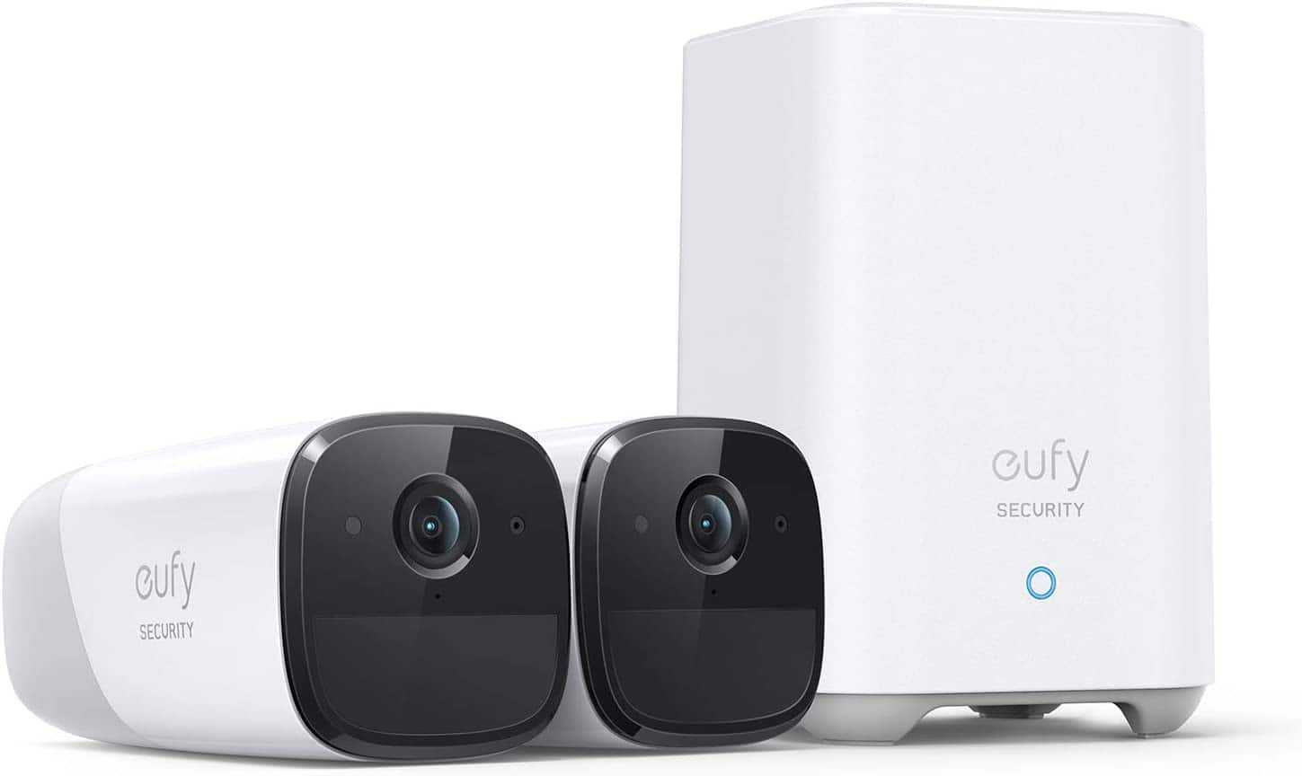 Anker Eufy - eufyCam 2 Pro 2K Indoor/Outdoor 2-Camera Security System $249.99