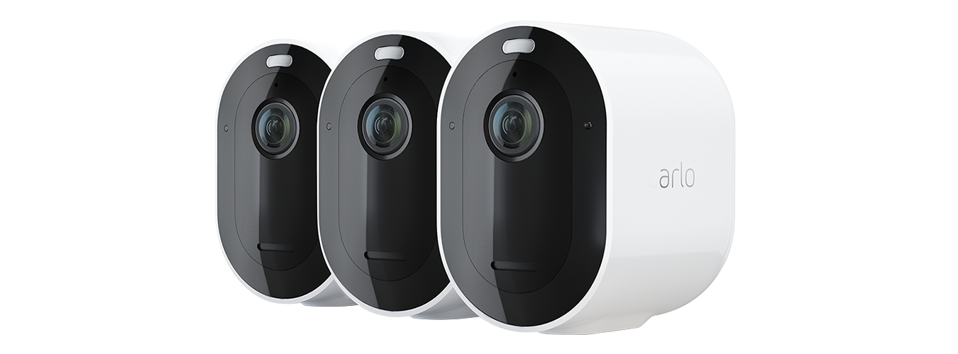 Arlo Pro 4 Spotlight Camera (3-pack, White or Black) - $499.99 + Free Shipping