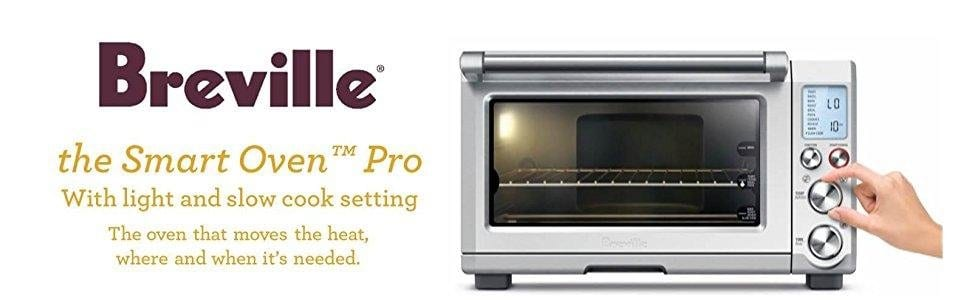 Breville BOV845BSS Smart Oven Pro Convection Toaster Oven $220 + tax & shipping