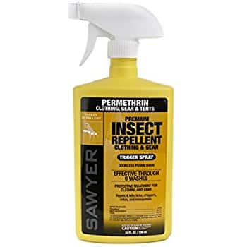 Sawyer Products Premium Permethrin Clothing Insect Repellent pump spray 24oz Pump Spray - $10.99