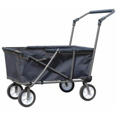 Folding Steel & Polyester Work Wagon $29.99 Free Ship to Store True Value