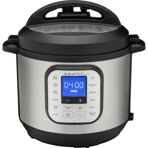 Instant Pot - Duo Nova 6-Quart 7-in-1, One-Touch Multi-Cooker - Silver $69.99