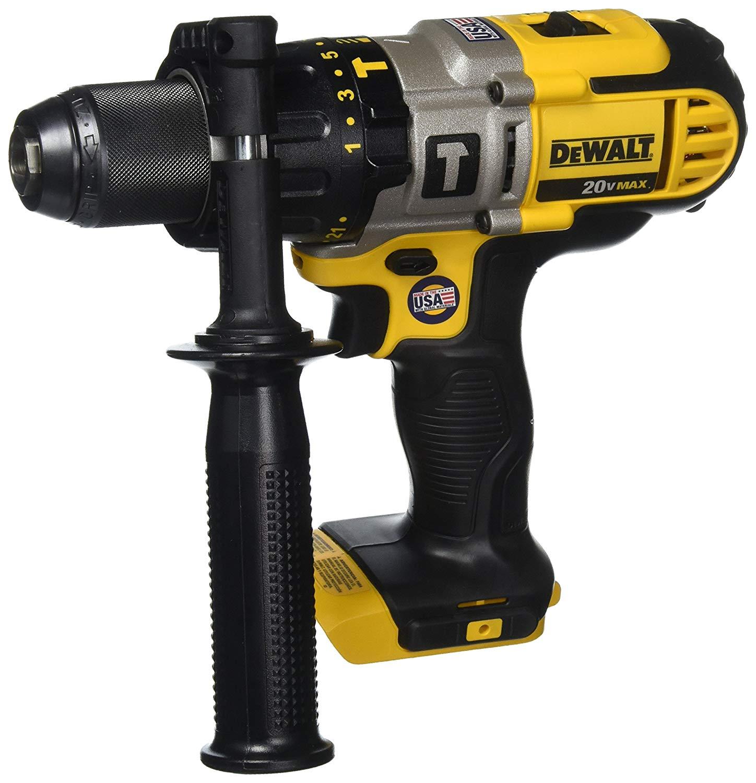 DEWALT DCD985B 20-Volt MAX Lithium Ion 1/2-Inch Hammer Drill/Drill Driver (Tool Only) $80 Amazon $79.87