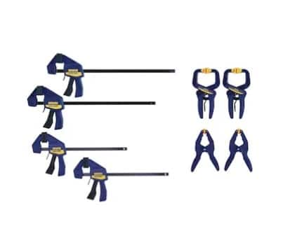 YMMV IRWIN QUICK-GRIP 8-Pack Assorted Assorted Clamp Clamp $20.98