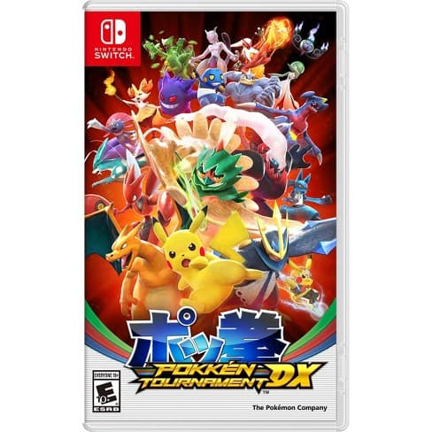 Pokken Tournament DX for Nintendo Switch (Physical) $44.88