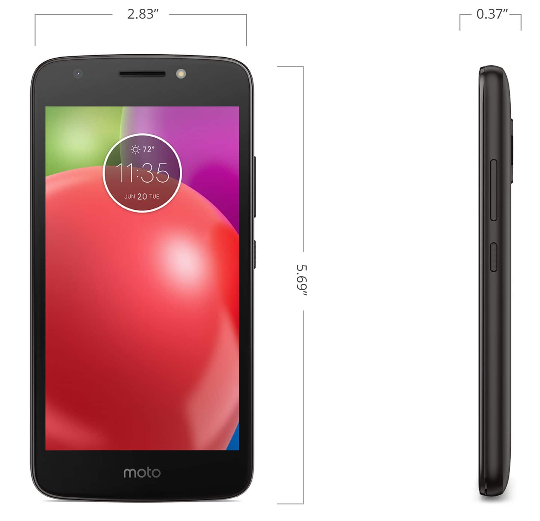 Moto E4 at Boost Mobile 49.99 plus tax, free shipping $49.99