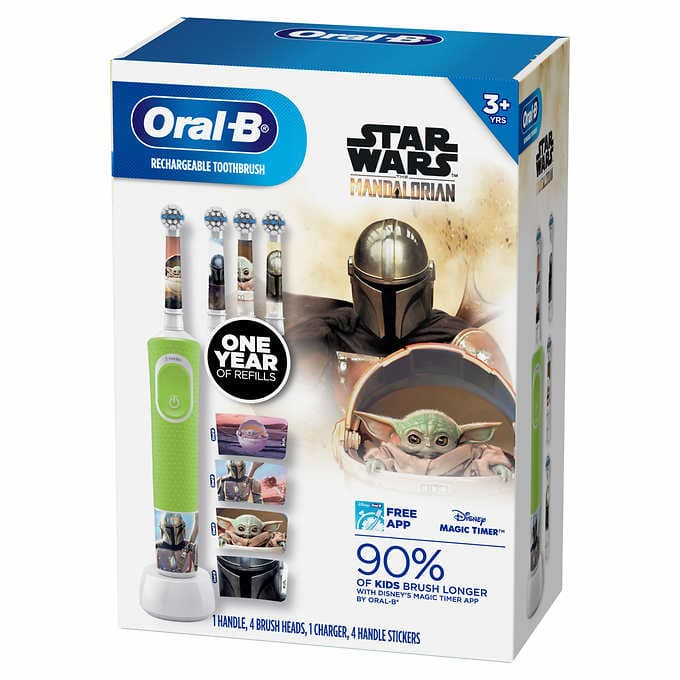 Oral-B Kids Disney Rechargeable Electric Toothbrush at Costco $29.99