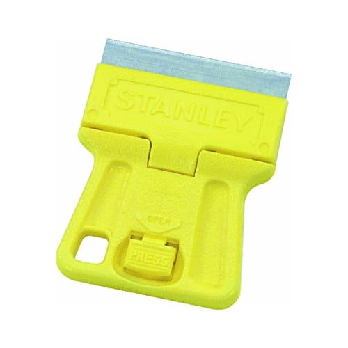 "Stanley 28-100 1-3/16"" inch High Visibility Mini-Razor Blade Scraper - $0.66 + FS w/Prime - Back in Stock (Qty 2 Gets No-Rush Credit)"