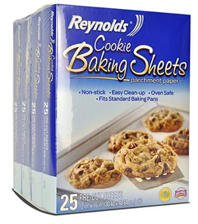 Back in Stock Amazon 22-Count Reynolds Cookie Baking Sheets Non-Stick Parchment Paper as low as $1.93 w/ Subscribe and Save