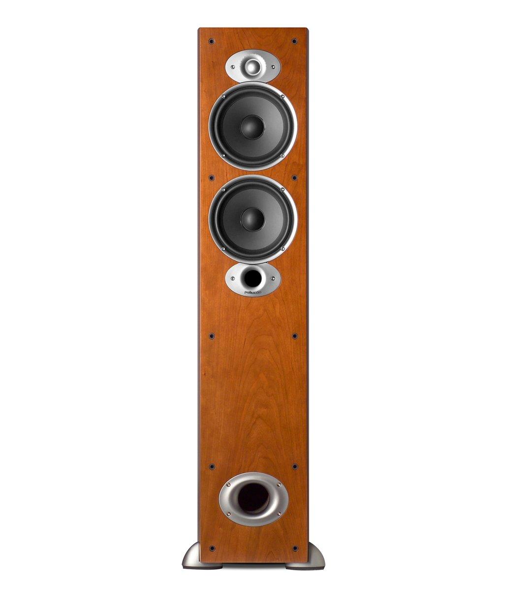 Polk Audio RTI A5 Floorstanding Speaker (Single, Cherry) For $149.00 @ Amazon