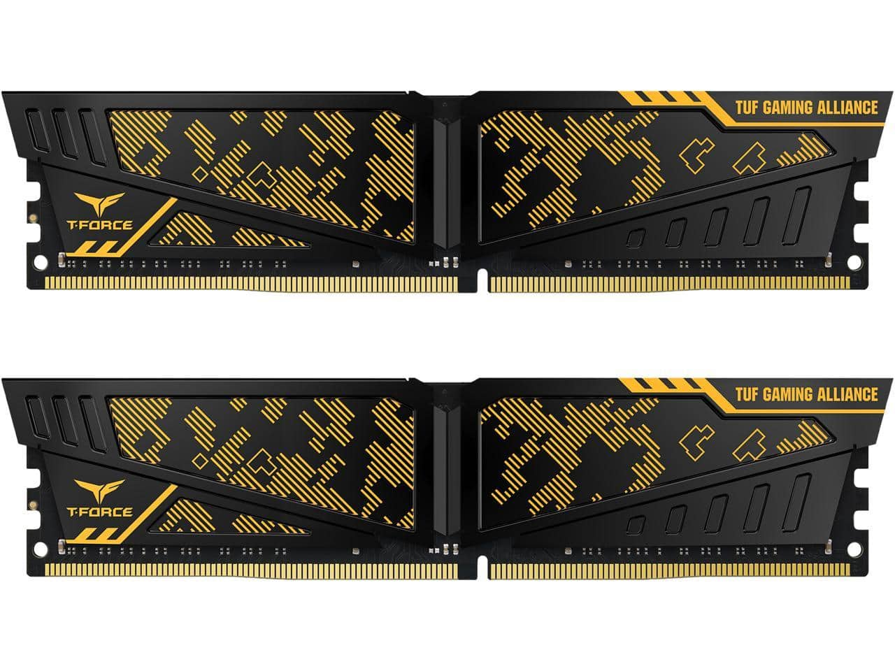 Team T-FORCE VULCAN TUF Gaming Alliance 16GB (2 x 8GB) 288-Pin DDR4 SDRAM DDR4 3200 (PC4 25600) Desktop Memory Model TLTYD416G3200HC16CDC01 $53.09