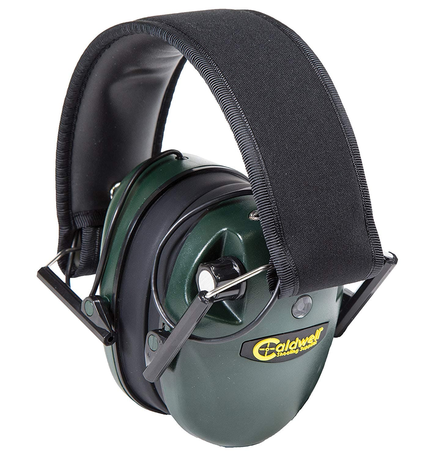Caldwell E-Max Low Profile Electronic 20-23 NRR Hearing Protection with Sound Amplification and Adjustable Earmuffs for Shooting, Hunting and Range $18.09