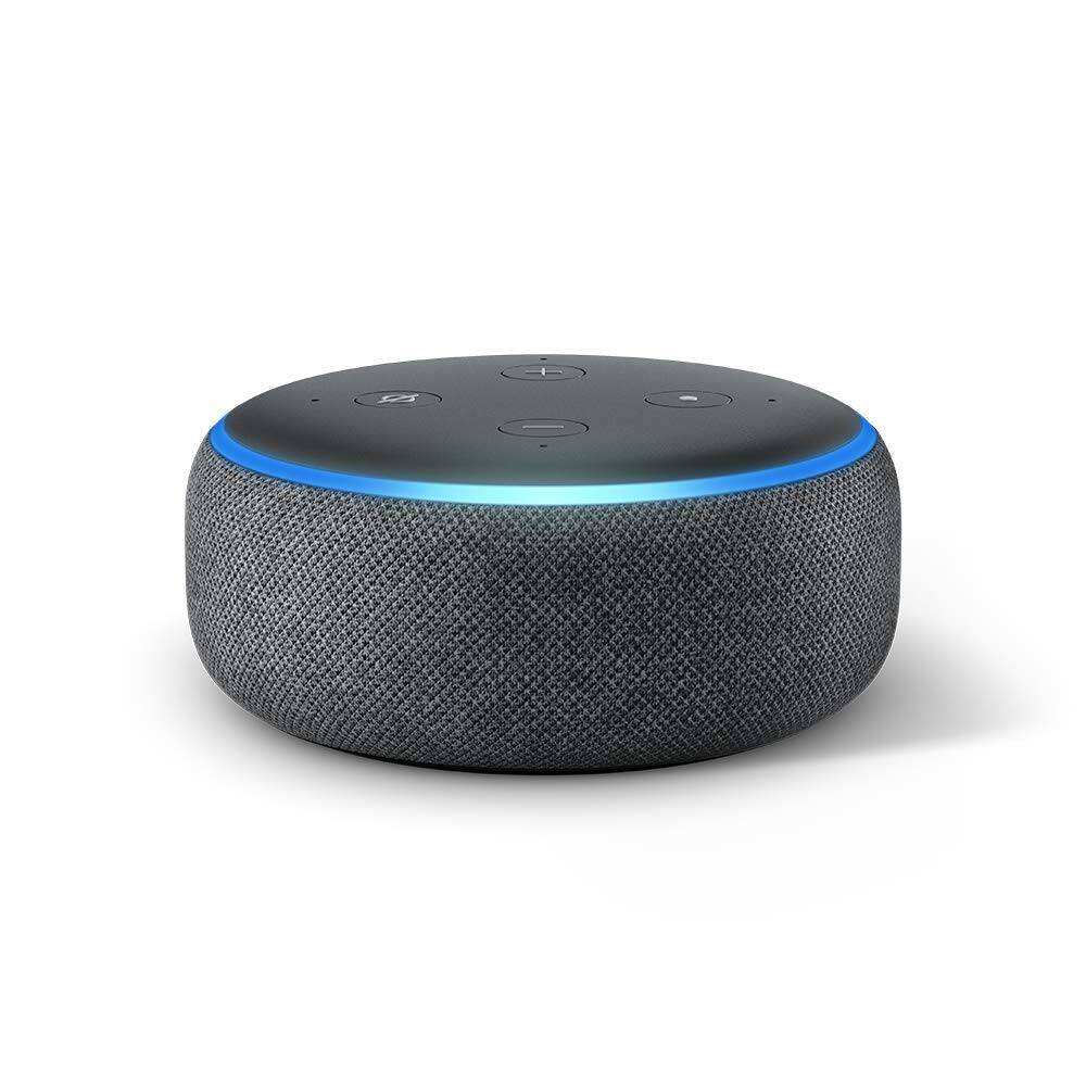 Echo Dot (3rd Gen) - Voice control your smart home with Alexa - Charcoal $29.99