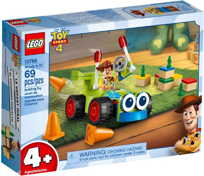 LEGO® Disney Pixar Toy Story 4 Woody & RC  10766 and other sets - In-store Deal Michaels $4