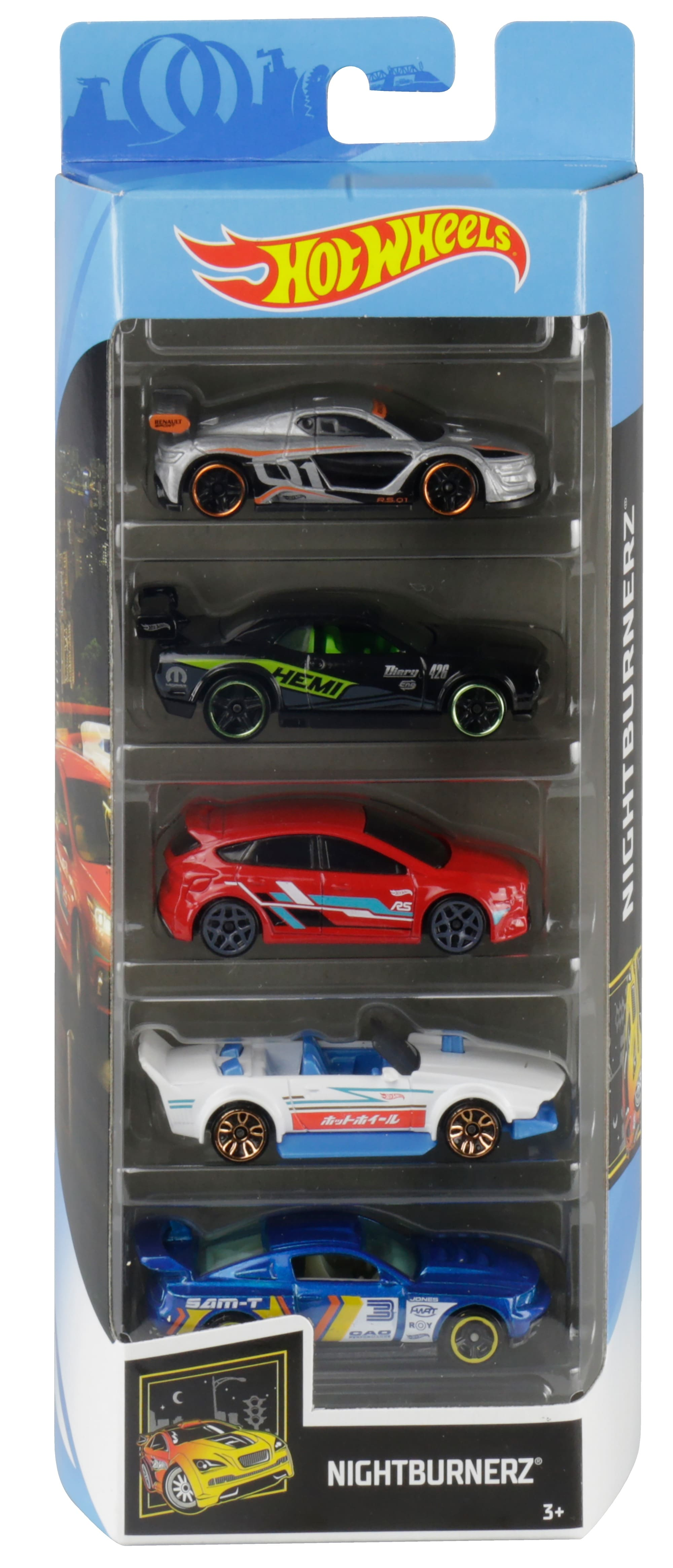 Hot Wheels 5-Car Collector Gift Pack, $4.97 (Reg $7.28)+Free Shipping
