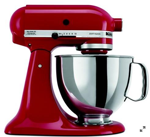 KitchenAid@Refurbished Artisan® Series 5 Quart Tilt-Head Stand Mixer - $190 + Free Shipping