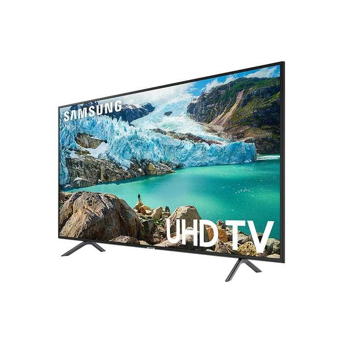 "YMMV SAMSUNG 50"" Class 4K Ultra HD (2160P) HDR Smart LED TV UN50RU7200 (2019 Model) $99.99 YMMV"