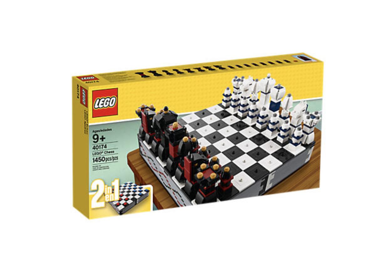 LEGO Iconic Chess Set $43.99 Free Shipping on lego.com