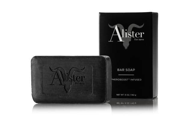 Free bar of Alister Brand Soap (code BOOST)
